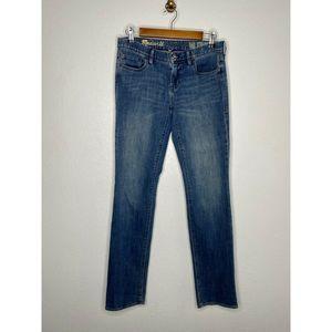 Madewell | Rail Straight medium wash jean